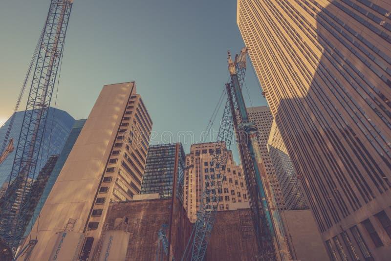 Construction à San Francisco photos stock