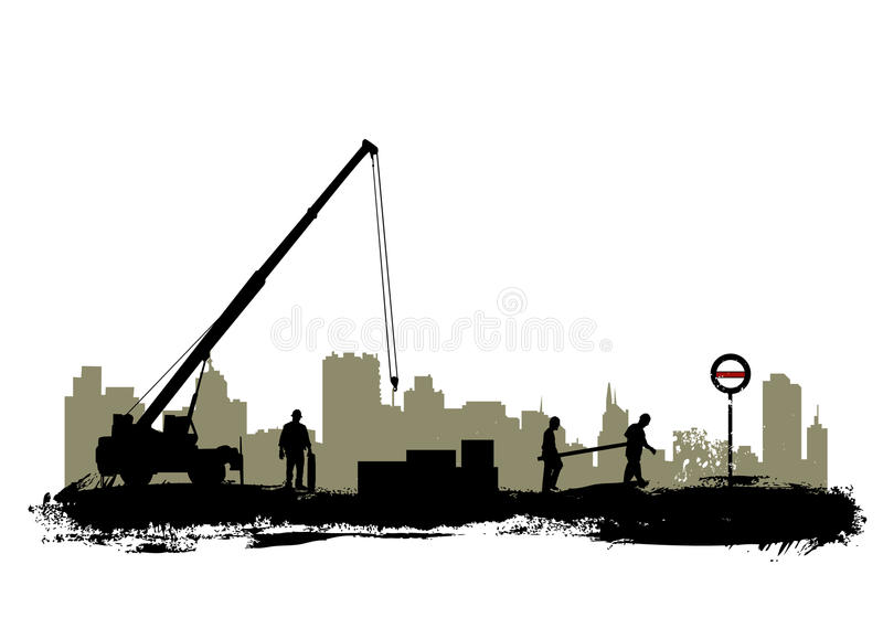 Construction illustration de vecteur
