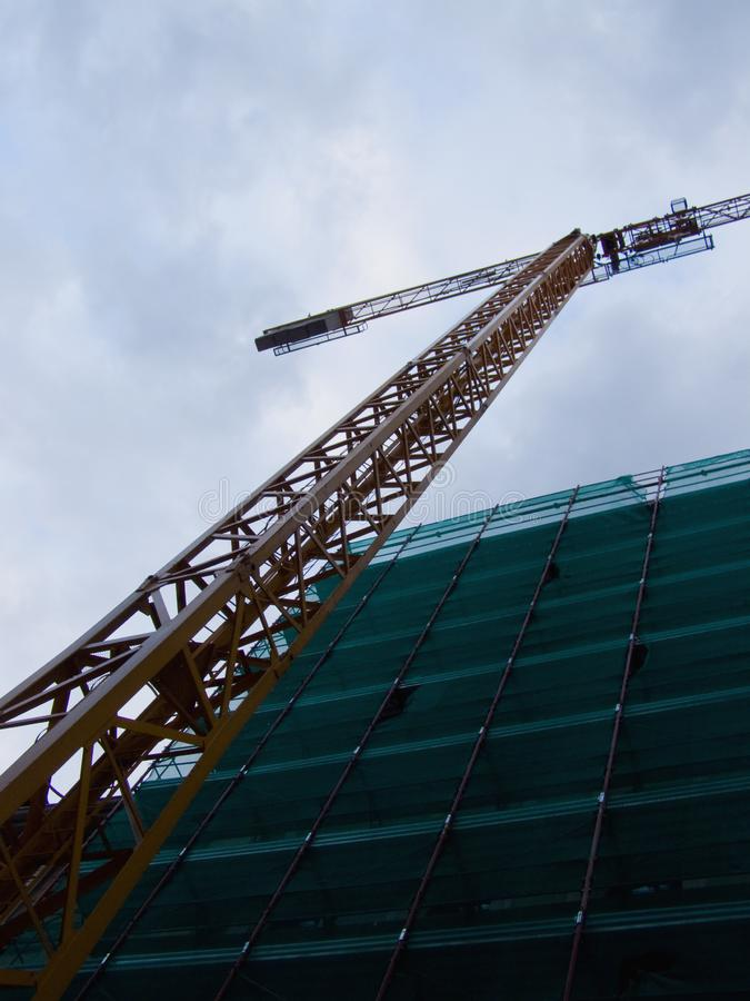 Download Construction stock image. Image of crane, looking, city - 14276209