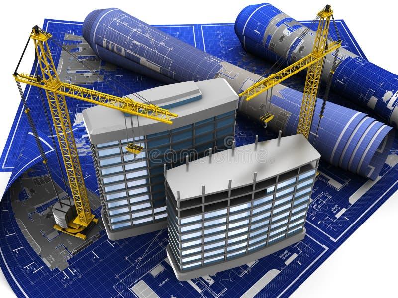 Construction royalty free illustration