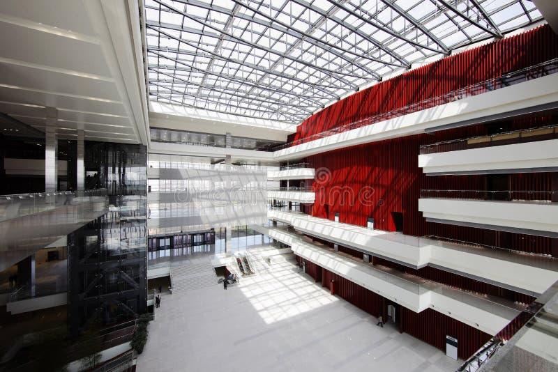 Construction 2010 d'expo du monde de Changhaï images libres de droits
