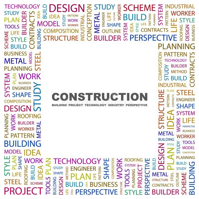 CONSTRUCTION. illustration libre de droits