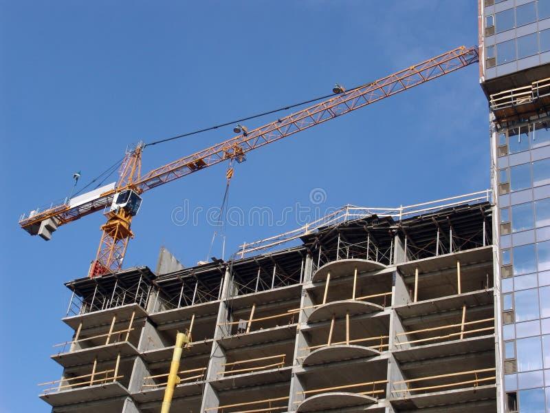 Download Construction stock image. Image of building, crane, builder - 5466139