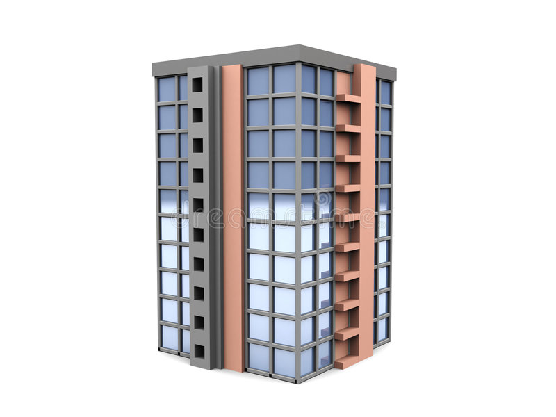 Construction illustration stock