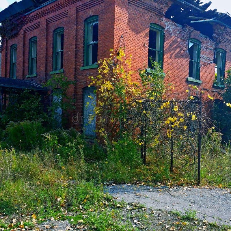 Construction abandonnée image stock