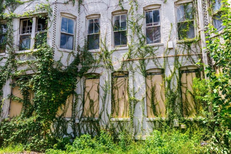 Construction abandonnée images stock