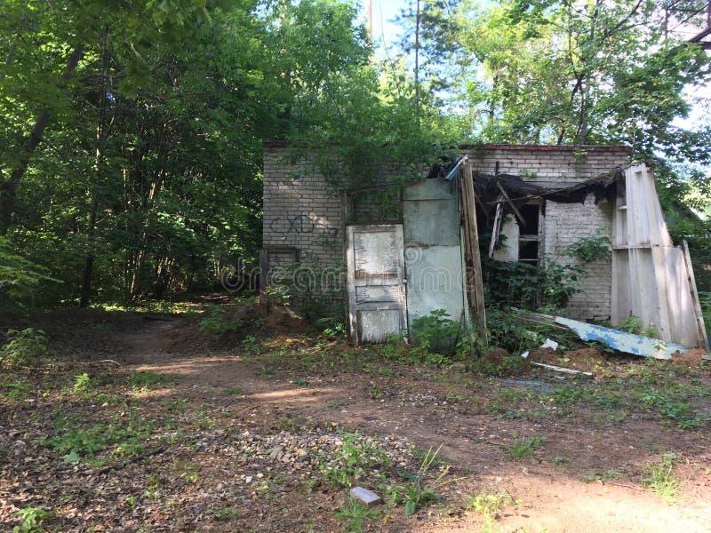 Construction abandonnée photo libre de droits