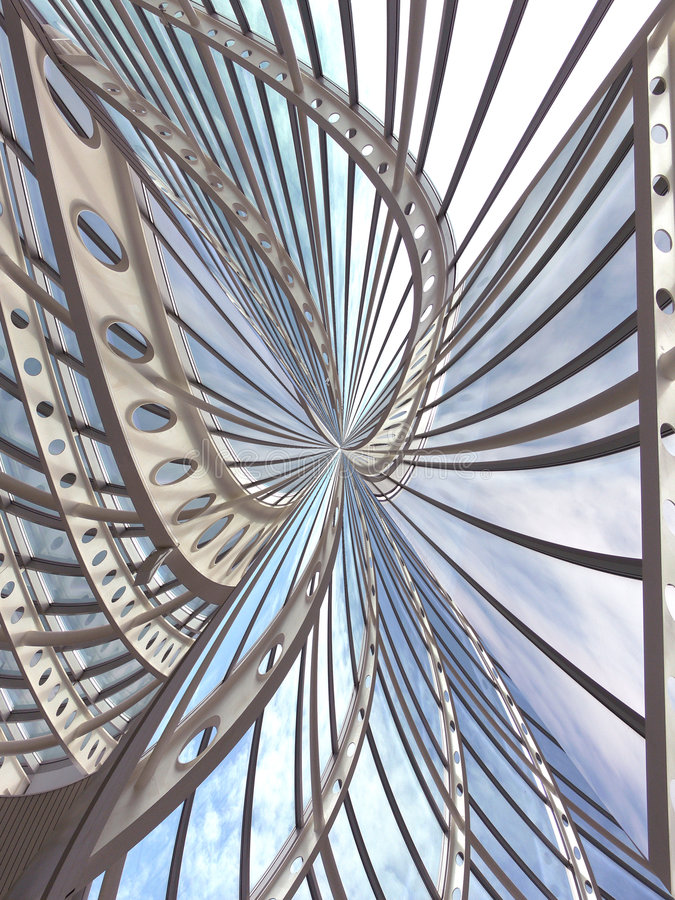 Construction abstraite image stock