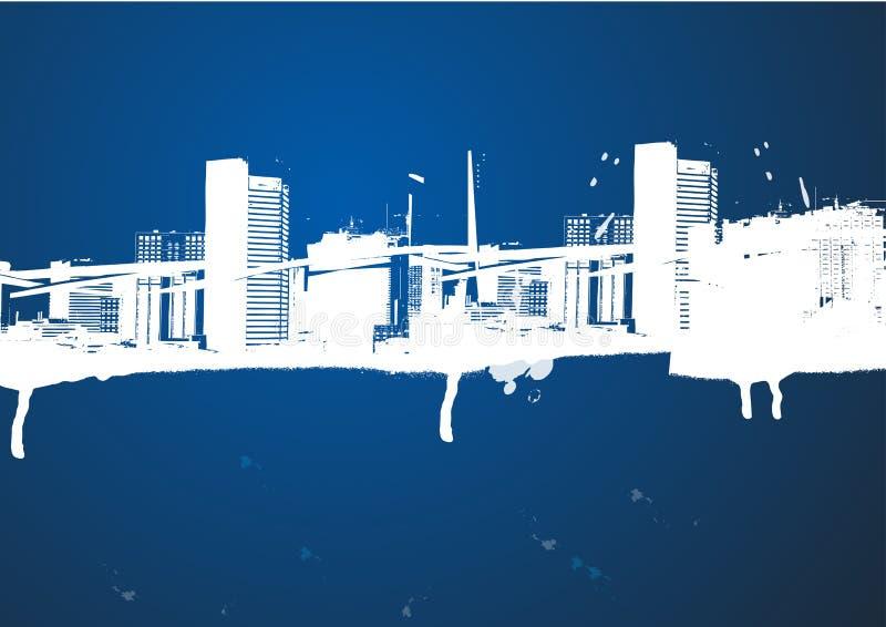 Construction abstraite illustration stock