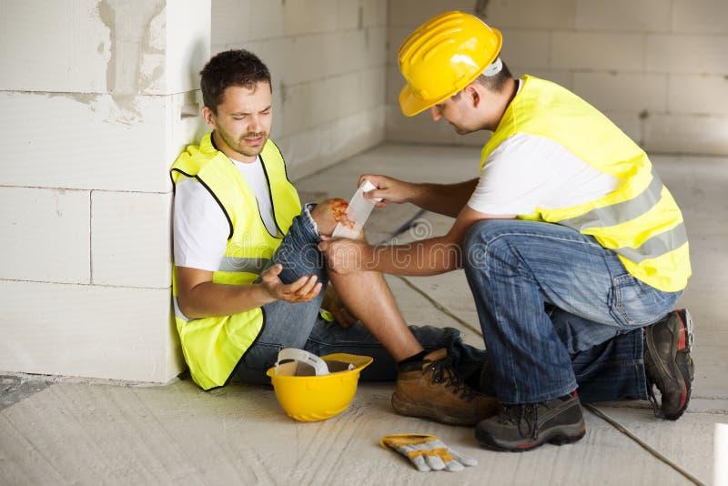 Construction accident stock photos