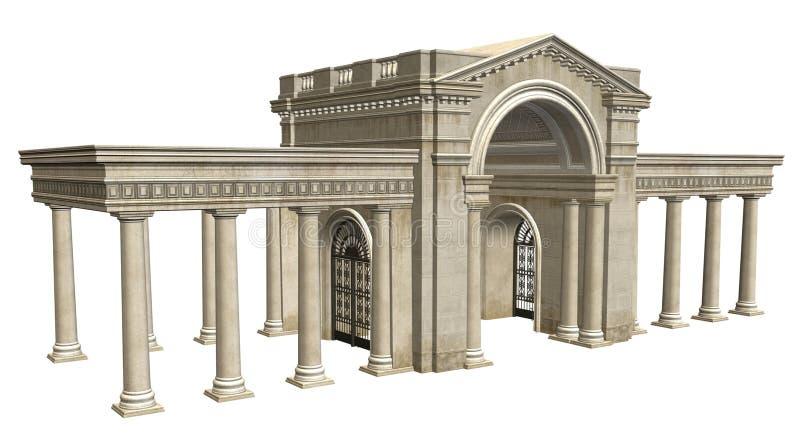 Construction antique illustration libre de droits