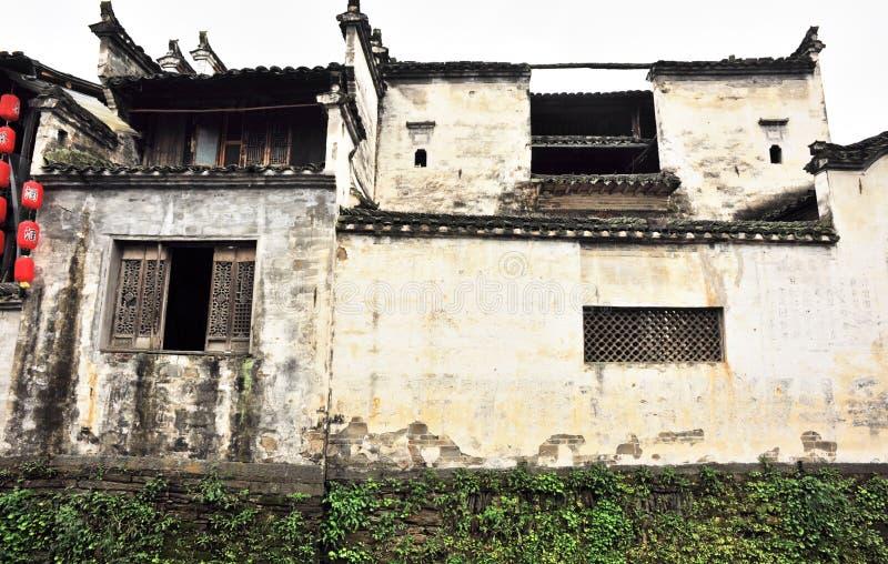 Construction antique de dynastie qing et ming images stock