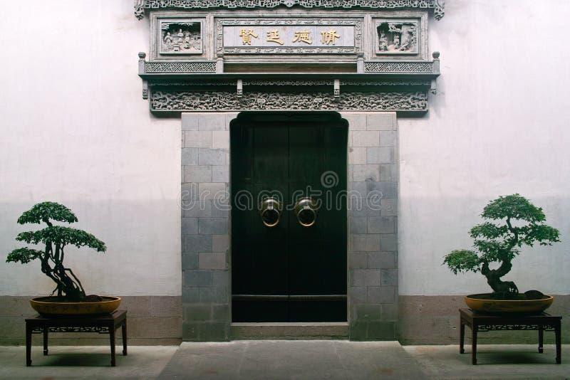 Construction antique de la Chine photographie stock