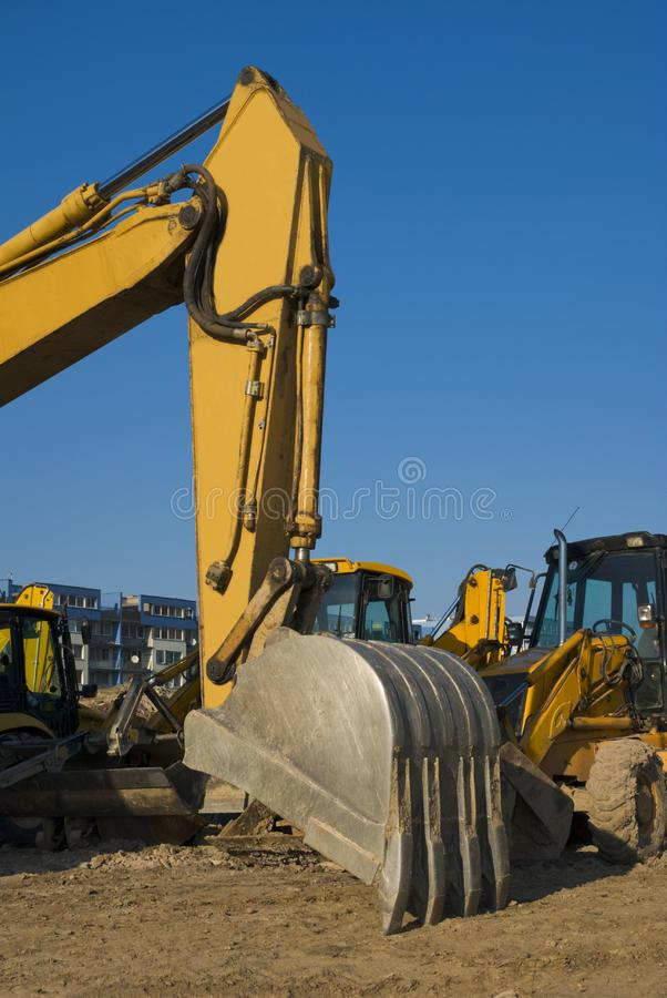 Construction area royalty free stock images