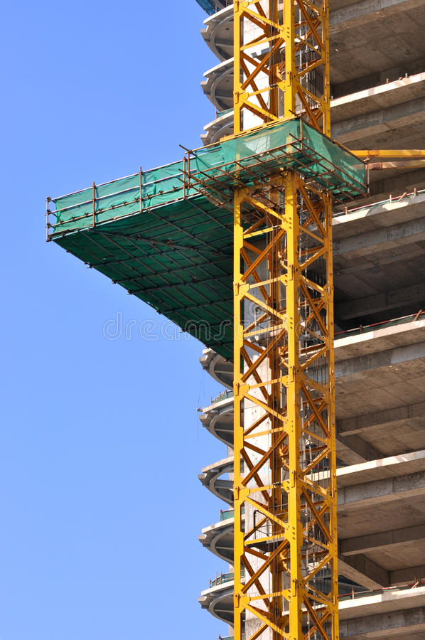 Download Construction Area Under Blue Sky Stock Image - Image: 23407887