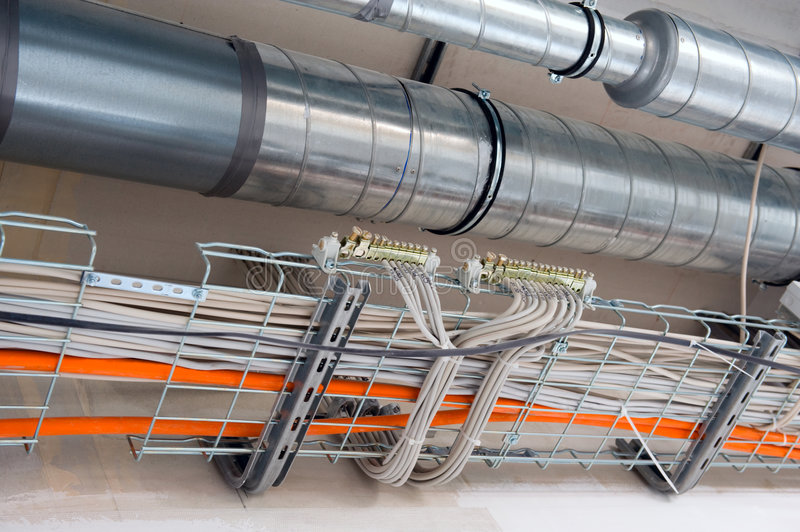 Download Construction background stock image. Image of conduit - 8736159