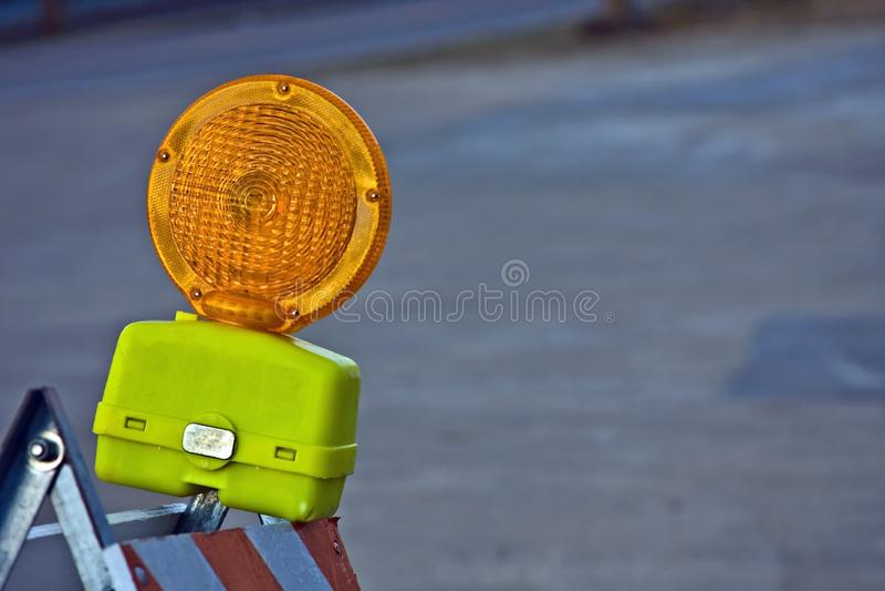 Download Construction Barricade Light Stock Photo - Image: 8486330