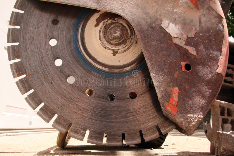 Construction Blade Machine royalty free stock images