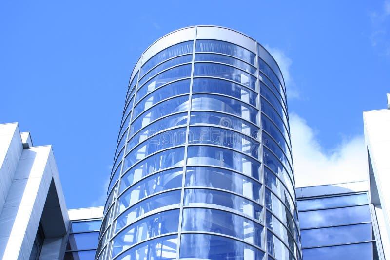 Construction bleue photographie stock libre de droits