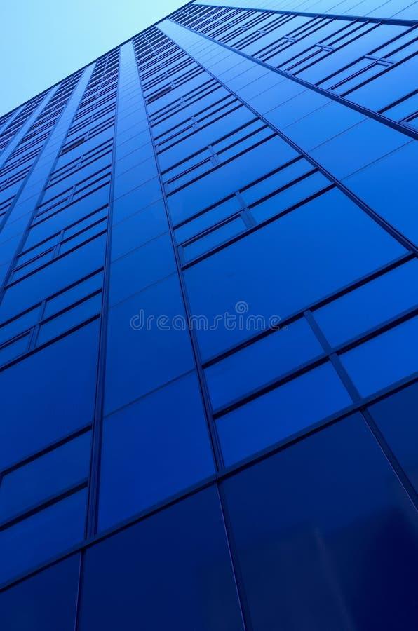 Construction bleue photo stock