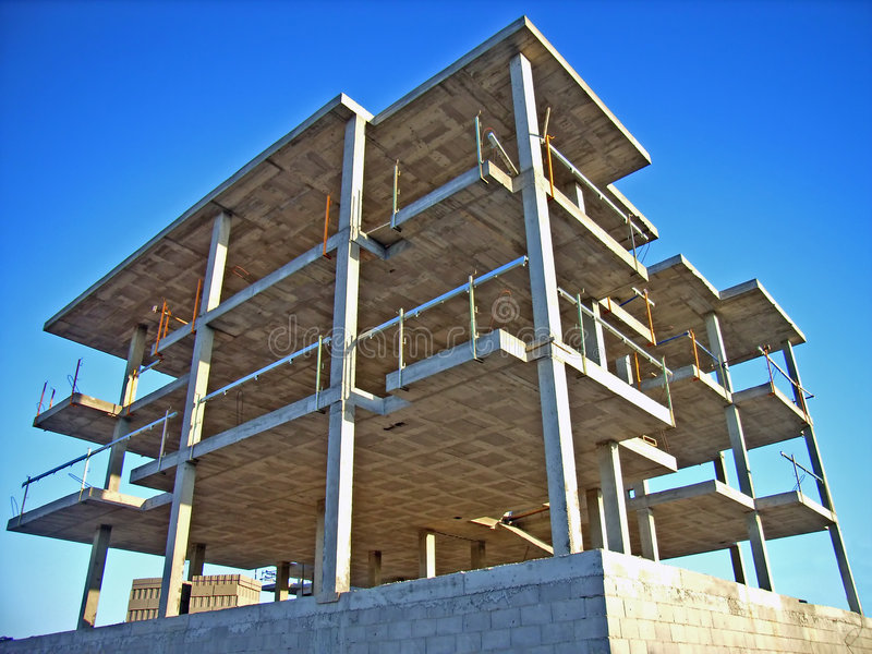 Construction Building stock photo