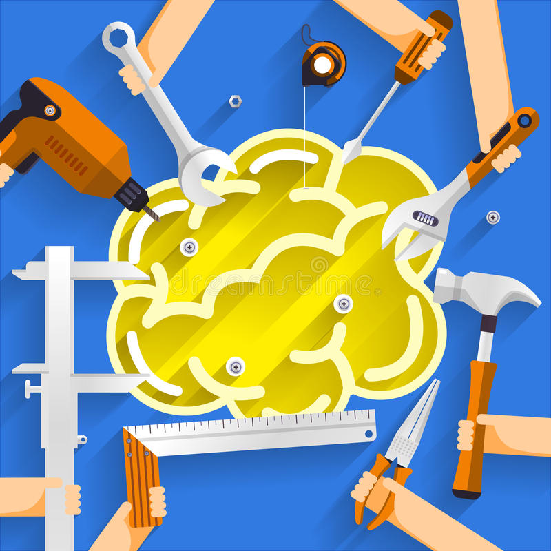 Construction_Building stock illustration