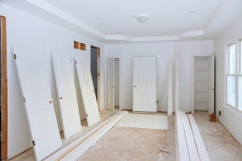 Download Construction Building Industry New Home Construction Interior  Drywall Tape. Building Construction Gypsum Plaster Walls