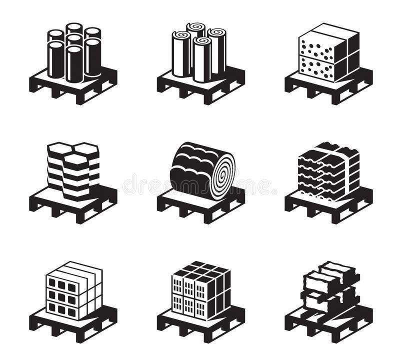 Download Construction And Building Materials Stock Vector - Image: 41202987