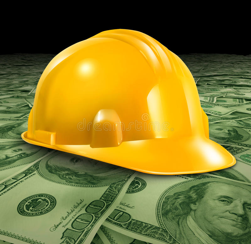Construction Business royalty free illustration