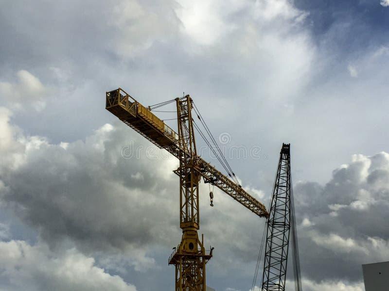 Construction cane royalty free stock image