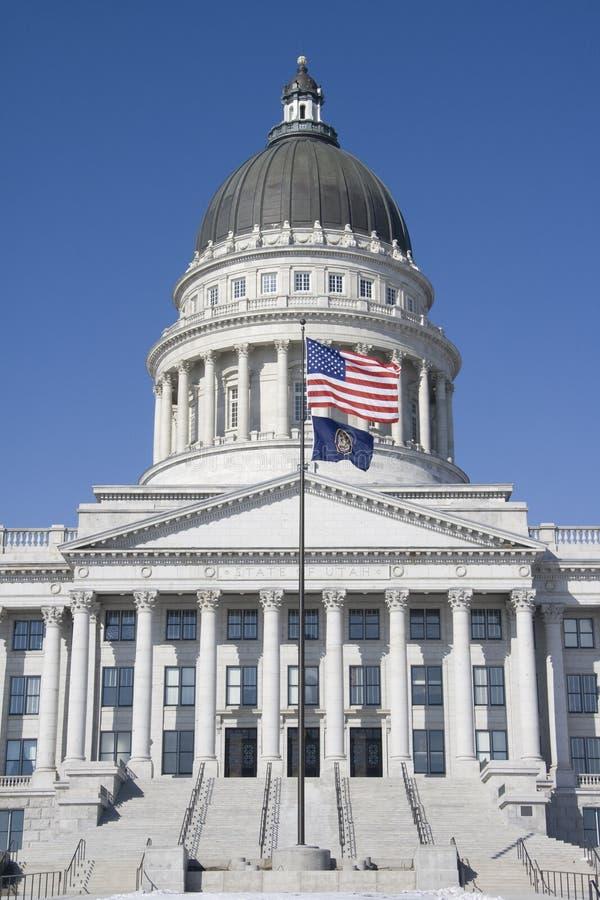 Construction capitale de l'Utah photos stock