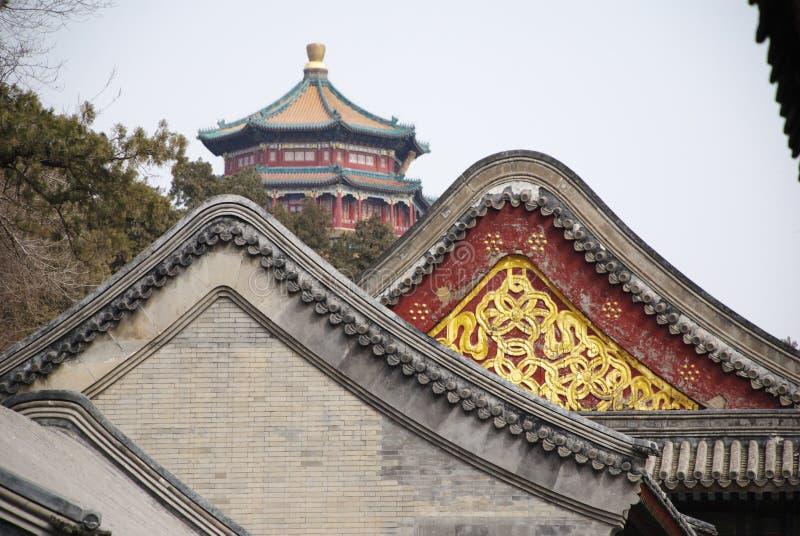 Construction chinoise historique photographie stock libre de droits