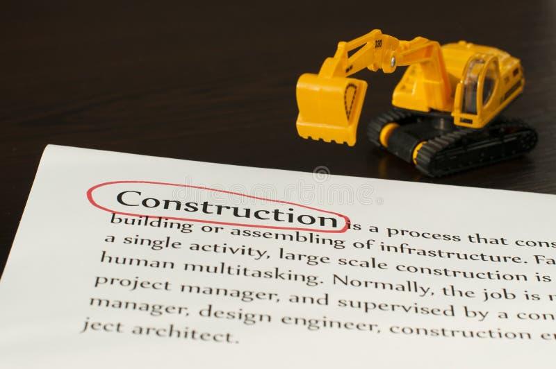 Construction concept stock photos
