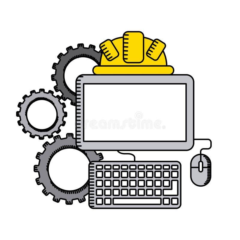 Construction concept. Design, vector illustration eps10 graphic stock illustration