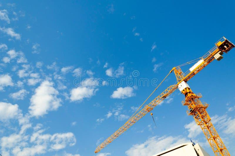 Construction cran stock photography