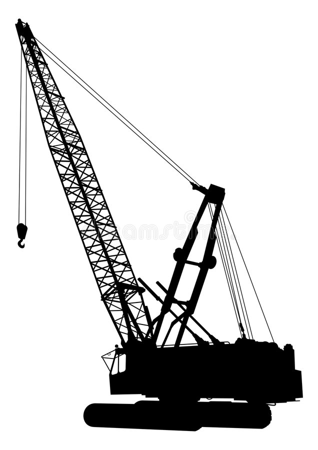 Download Construction crane 1 stock vector. Illustration of site - 5063796