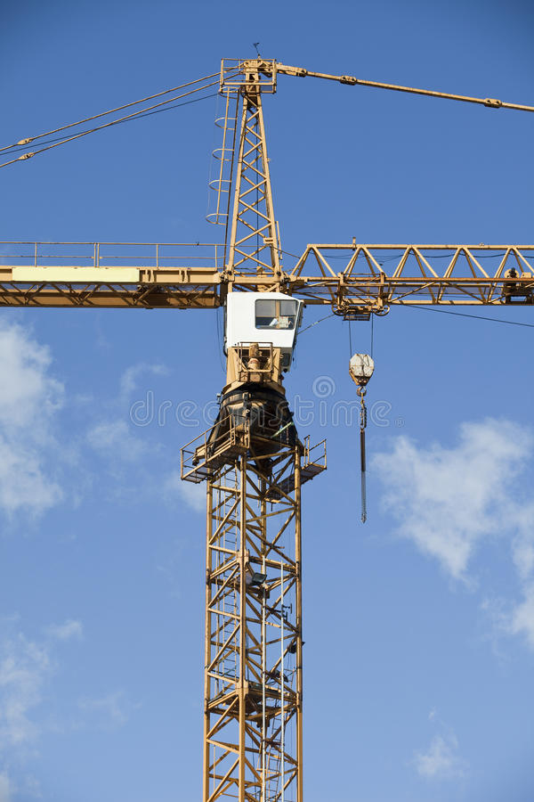 Download Construction Crane stock photo. Image of picking, industry - 10663478