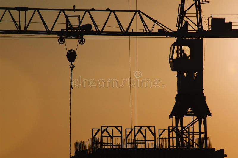 Download Construction crane stock image. Image of work, workers - 10684963