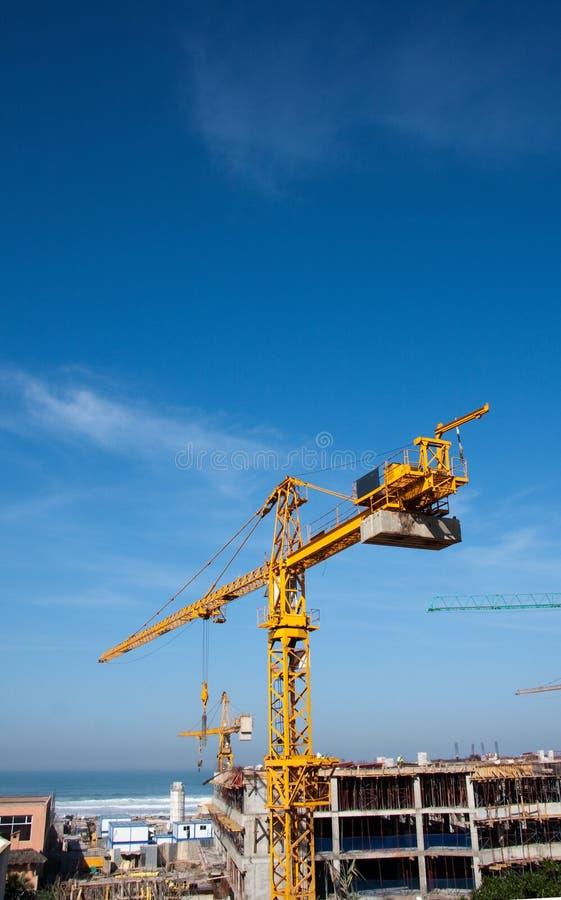 Free Construction Crane Royalty Free Stock Photo - 13542535