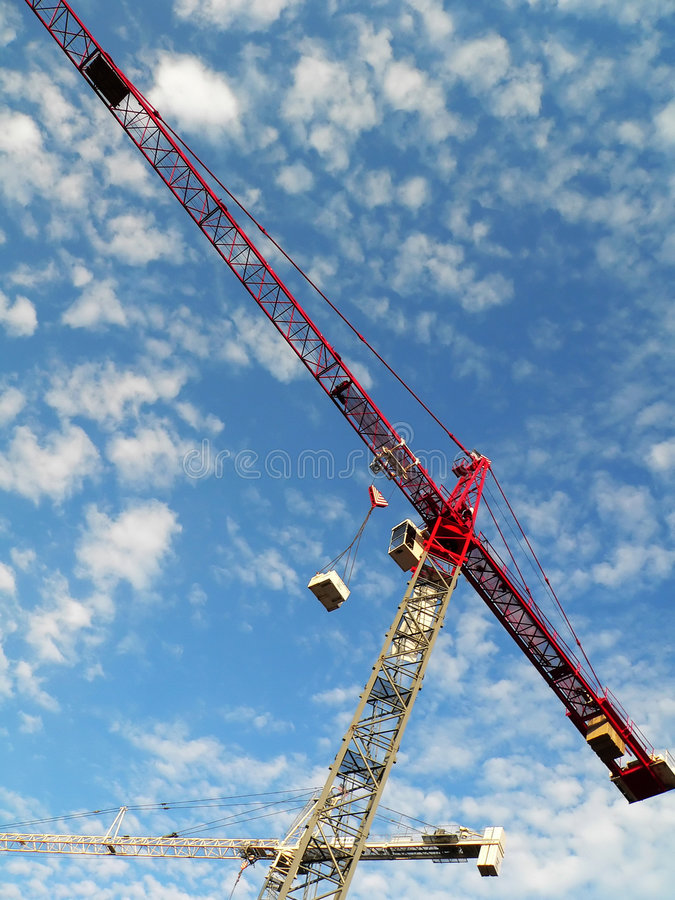 Download Construction Crane stock image. Image of industrial, labour - 188349
