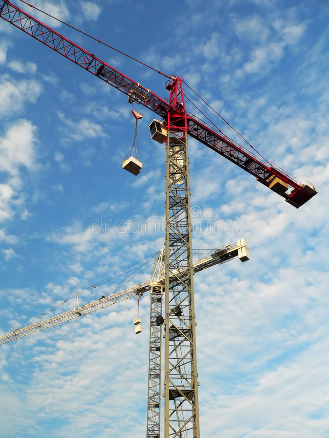 Download Construction Crane stock image. Image of close, lever, power - 188351