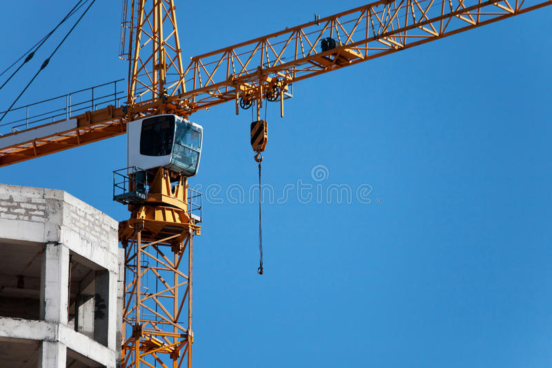 Download Construction crane stock image. Image of growth, home - 21319287