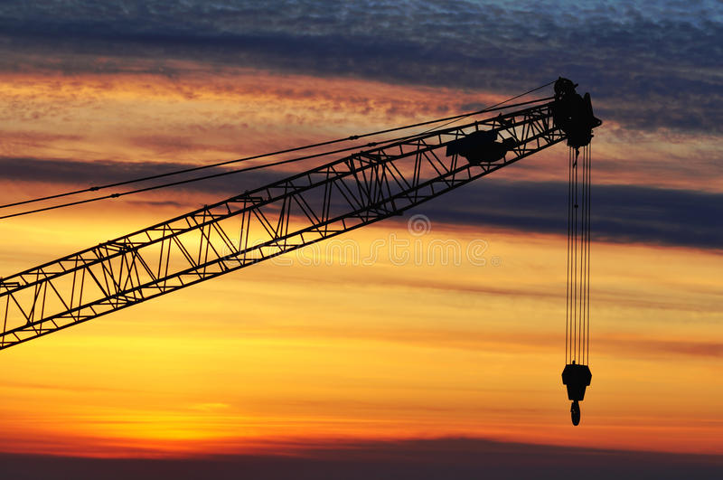 Download Construction Crane Royalty Free Stock Photo - Image: 22399355