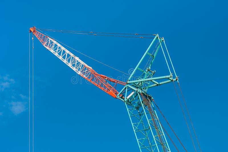 Download Construction crane stock image. Image of engineered, industrial - 22477607