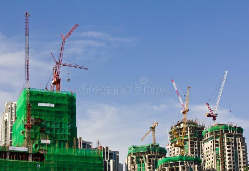 Download Construction crane stock photo. Image of blue, metal - 26573932