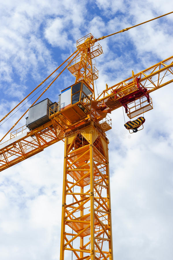 Free Construction Crane Detail Royalty Free Stock Image - 93501746