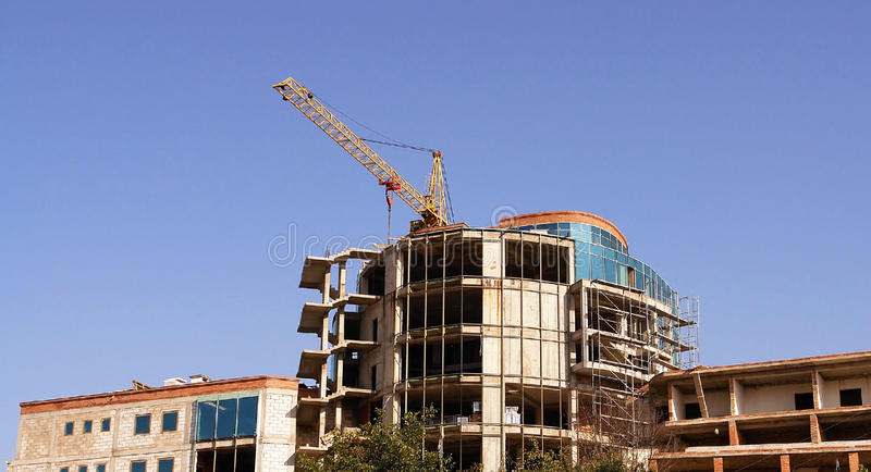 Download Construction stock photo. Image of elevating, sunny, estate - 33429760
