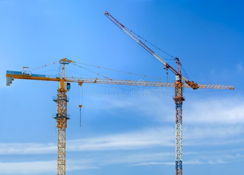 Download Construction cranes stock photo. Image of crane, industry - 19841950