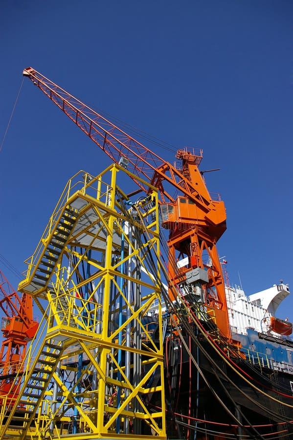 Free Construction Cranes Royalty Free Stock Image - 5860456