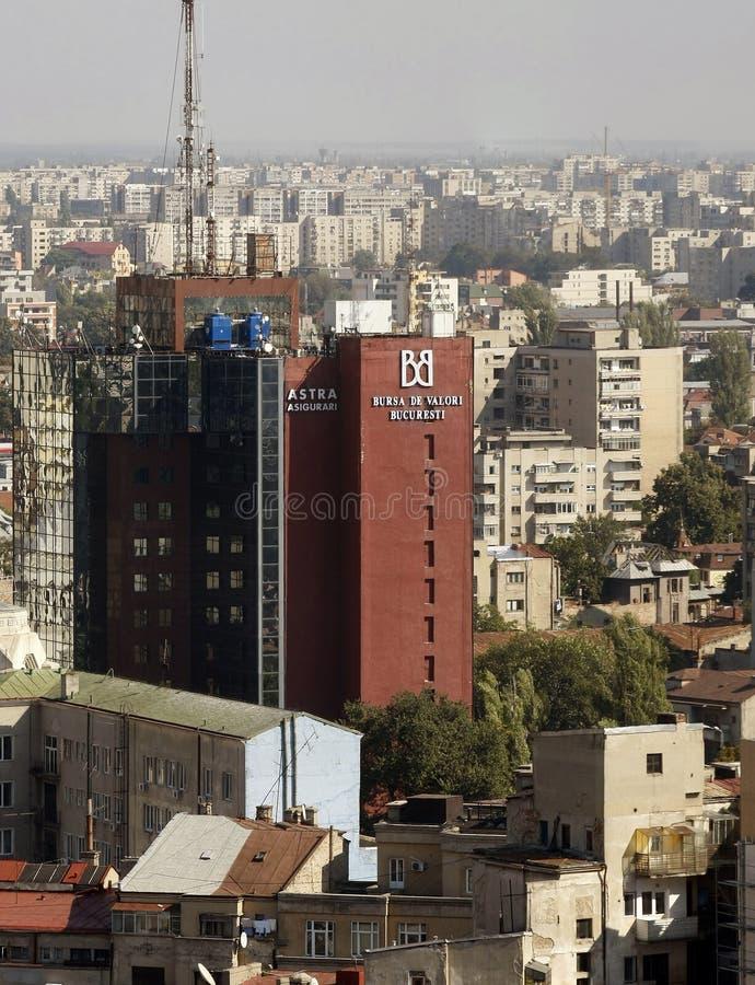 Construction d'échange courant de Bucarest photos stock